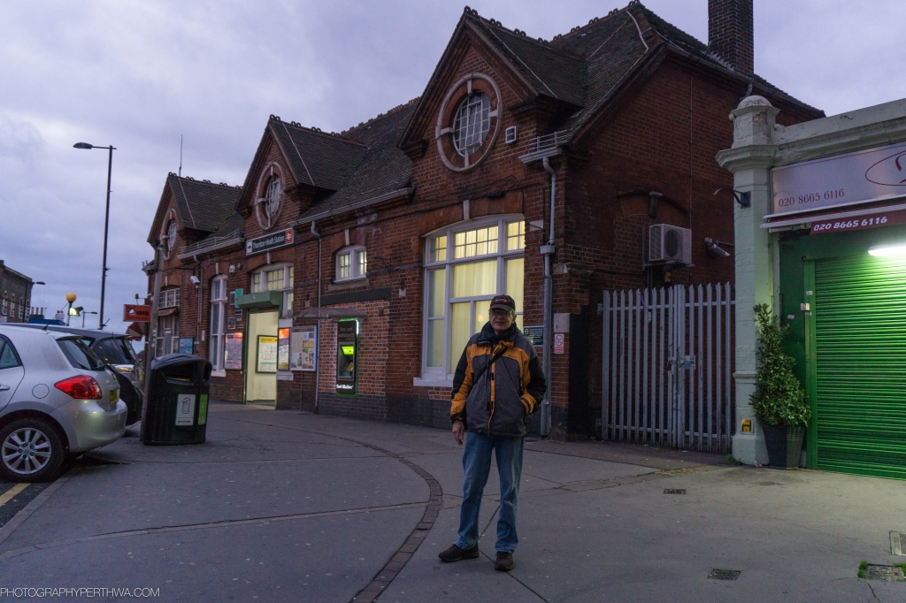 Here is Stephen outside of the Thornton Heath Railway Station. The area was quite rural before the railway was built. Bearing in mind that Stephen's great grandfather was a farm labourer.