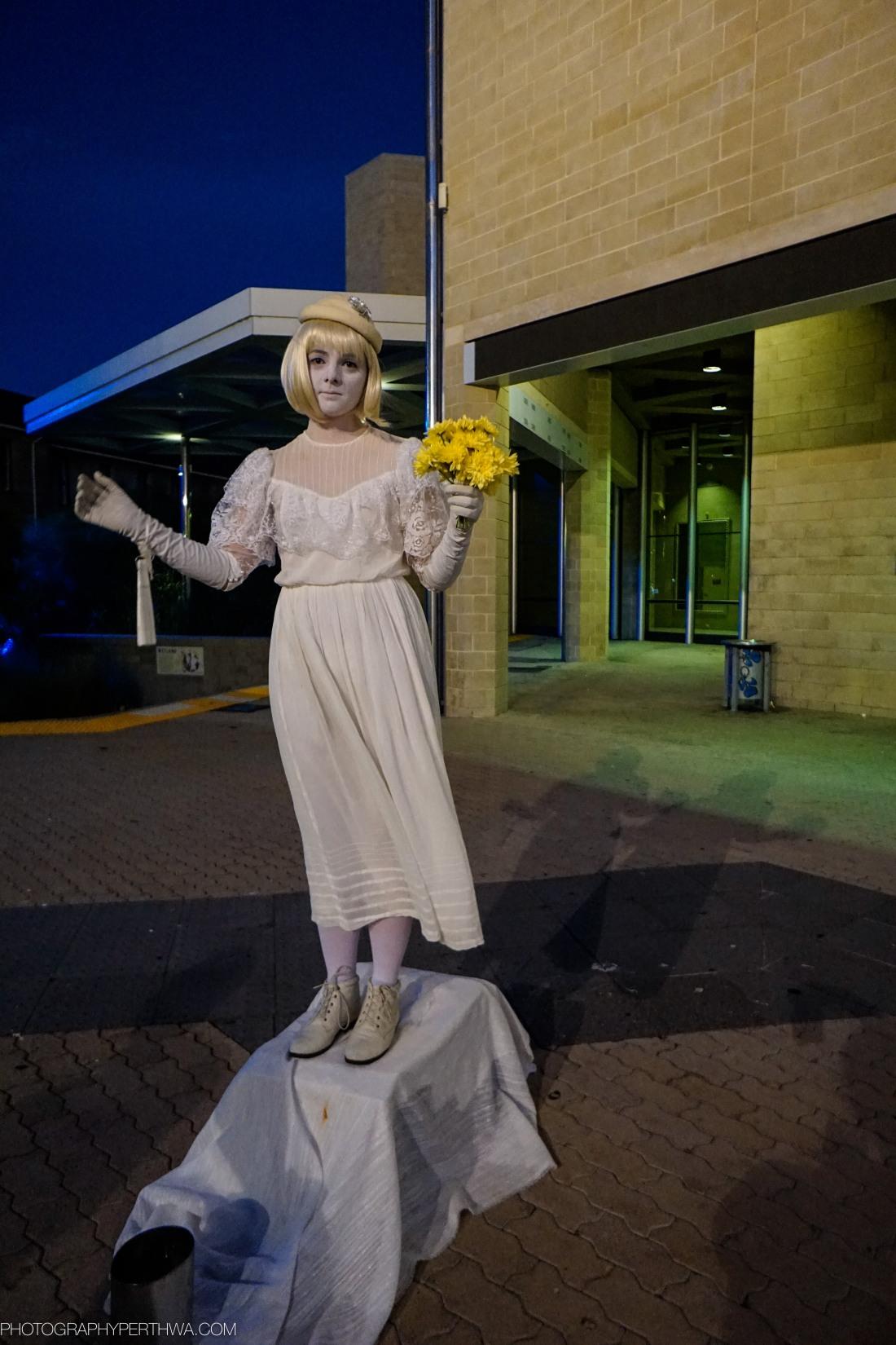 living statue, Perth Fringe Festival