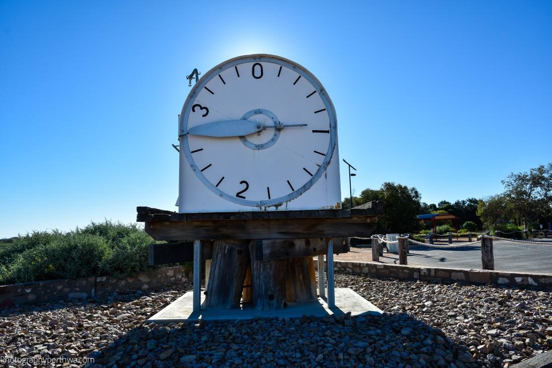tidal clock at Port Germein (1 of 1)