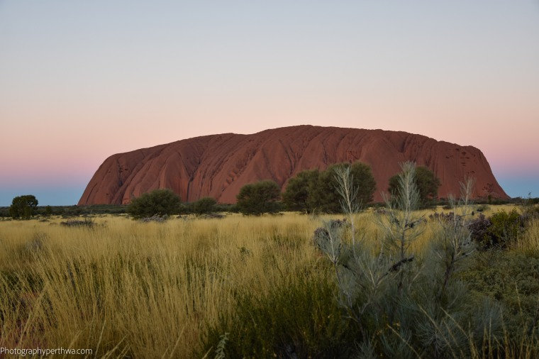 Uluru after sunset (1 of 1)
