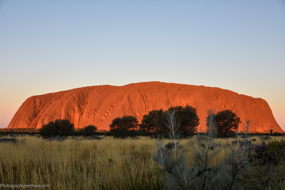 Uluru before sunset (1 of 1)